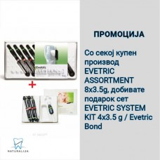 Promocija Evetric Assortment + Evetric system Kit/Evetric Bond