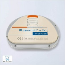 CERAMILL ZOLID PRESHADES dental arch shape